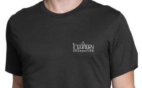 Imaginary Foundation - Knowledge Men's Shirt, Black