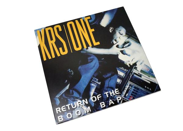 KRS-One - Return Of The Boom Bap 2xLP Gold Vinyl + bonus 7""