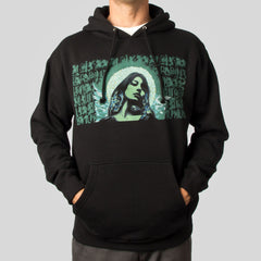El Mac & Retna - La Reina De Las Tribus Men's Hoodie, Black - The Giant Peach