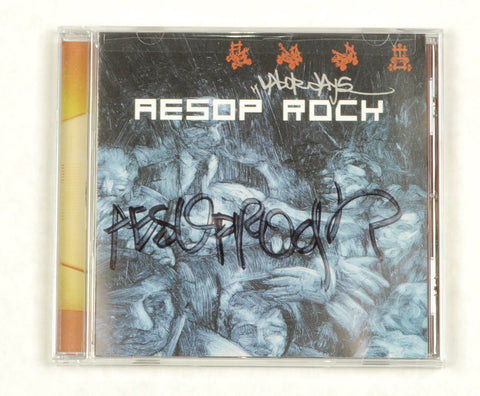 Aesop Rock - Labor Days, CD (autographed)