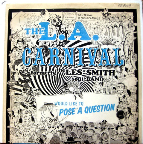 L.A. Carnival - Would Like To Pose A Question, 2xLP Vinyl
