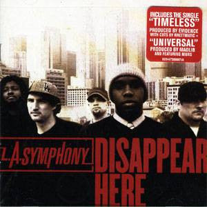 LA Symphony - Disappear Here, CD - The Giant Peach
