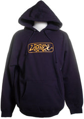 Latyrx - Gold Logo Men's Hoodie, Blue - The Giant Peach