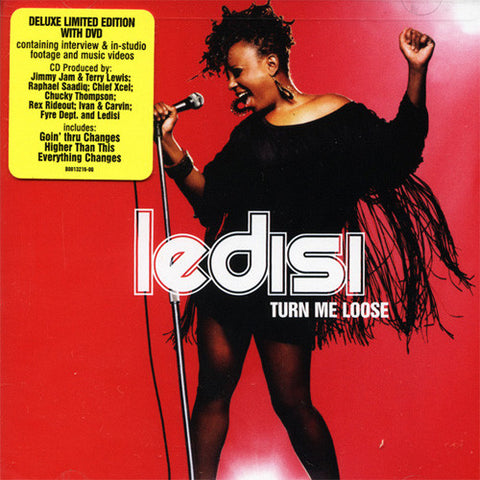 Ledisi - Turn Me Loose, CD/DVD