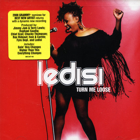 Ledisi - Turn Me Loose, CD - The Giant Peach