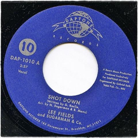 "Lee Fields & Sugarman & CO. - Shot Down, 7"" Vinyl"