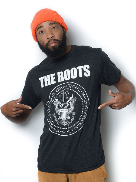 The Roots-Mones Men's Shirt, Black - The Giant Peach