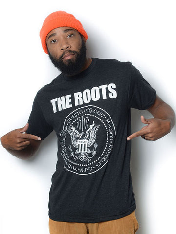 The Roots - Mones Men's Shirt, Black