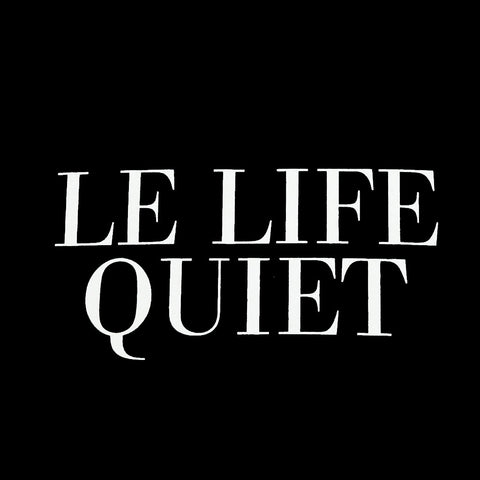 The Quiet Life - Le Life Quiet Men's Shirt, Black