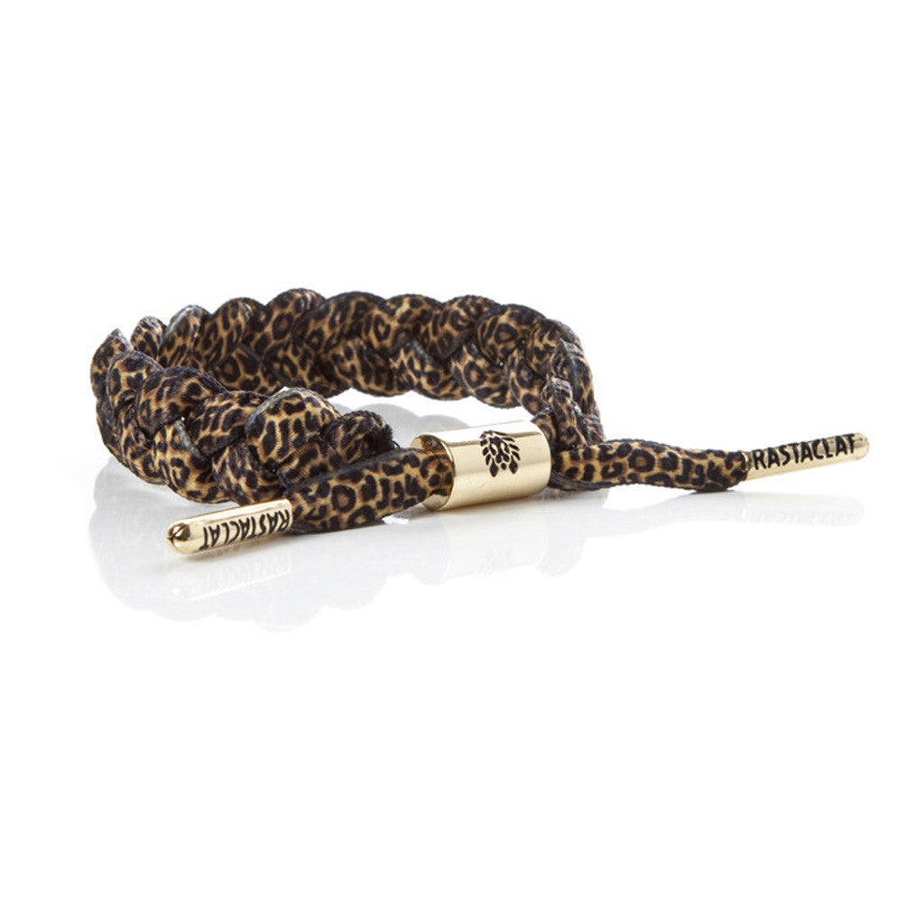 Rastaclat - Shoelace Bracelet, Leopard - The Giant Peach