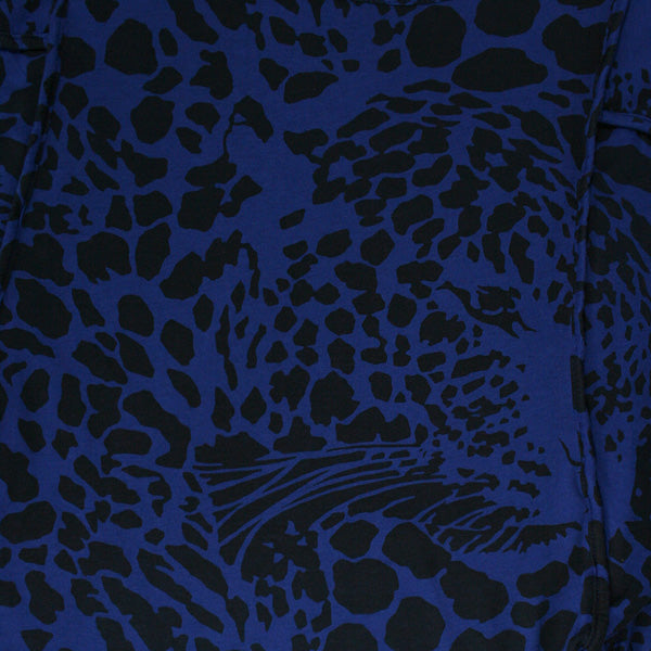 Insight - Big Cat Women's Dress, Navy - The Giant Peach