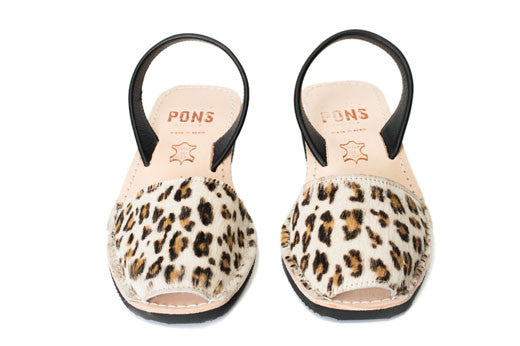 Pons Avarcas - Wedge Animal Prints, Leopard - The Giant Peach - 3