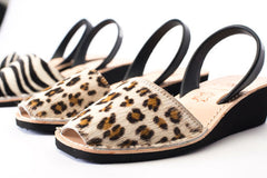 Pons Avarcas - Wedge Animal Prints, Leopard - The Giant Peach - 2