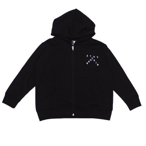 TRUE x Let's Stay Cool Kids Hoodie, Black
