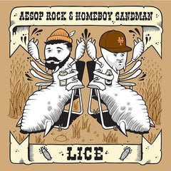 Aesop Rock and Homeboy Sandman - Lice - Free EP - The Giant Peach