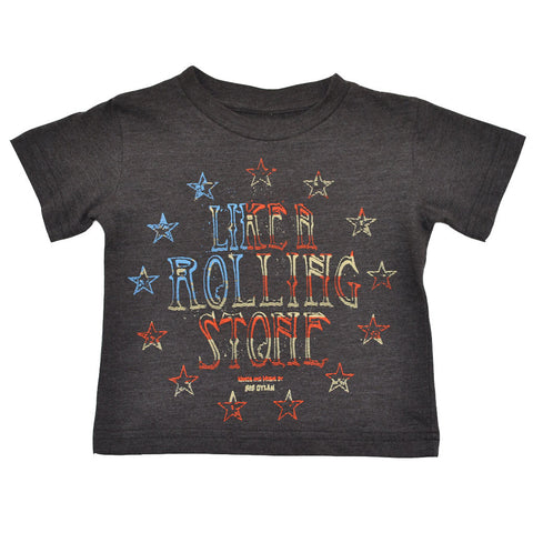 Bob Dylan - Like A Rolling Stone Toddler Tee, Heather Brown