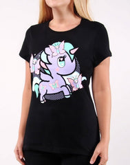 tokidoki - Lily Women's Tee, Black - The Giant Peach - 3