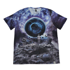 Imaginary Foundation - Liminal Sublimation Men's Tee - The Giant Peach - 2
