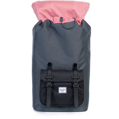 Herschel Supply Co. - Little America Backpack, Dark Shadow/Black/Black Rubber - The Giant Peach - 2