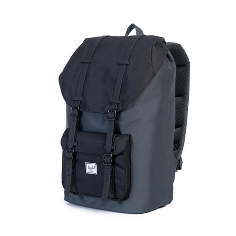 Herschel Supply Co. - Little America Backpack, Dark Shadow/Black/Black Rubber