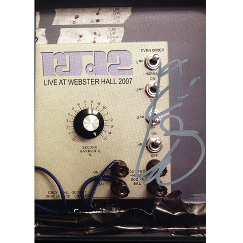 RJD2 - Live At Webster Hall 2007 (Autographed), DVD