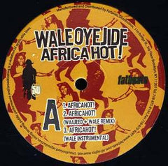 "Wale Oyejide - Africahot!, 12"" Vinyl - The Giant Peach"