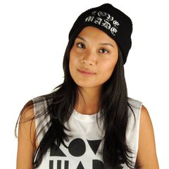 Lovemade - Thug Made Beanie, Black - The Giant Peach - 3