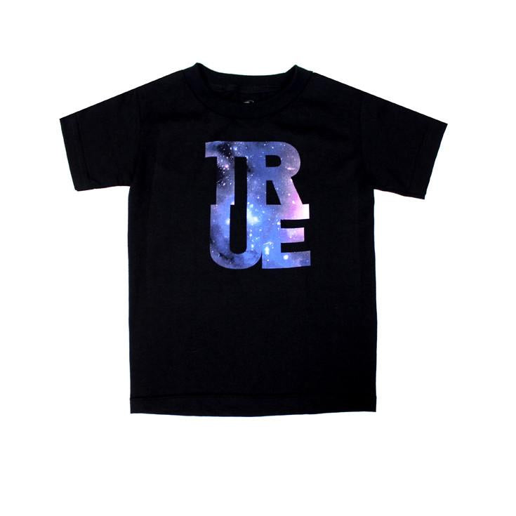 TRUE - Galaxy Kids Tee, Black
