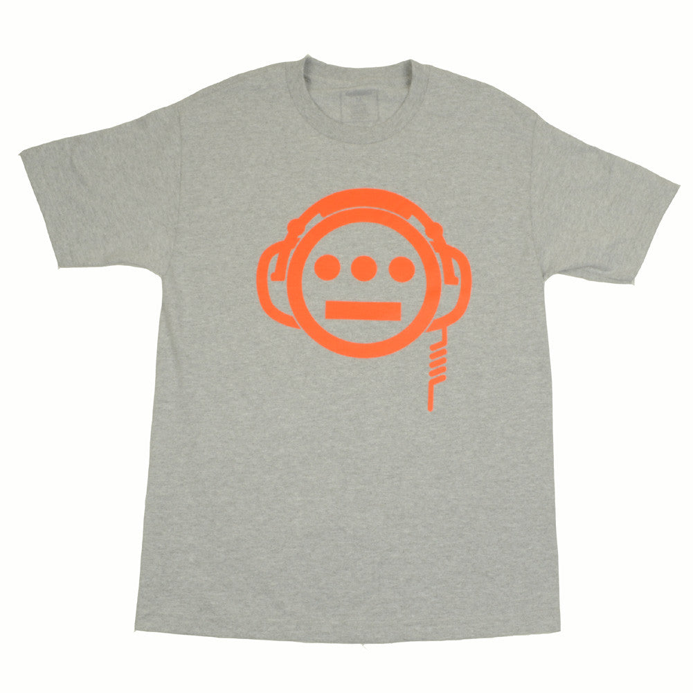 delHIERO - Headphones Men's Shirt, Heather - The Giant Peach - 1