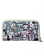 tokidoki - Pastel Pop Large Wallet - The Giant Peach