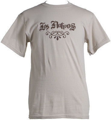 Los Nativos - Old School Logo Shirt, Tan