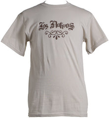 Los Nativos - Old School Logo Shirt, Tan - The Giant Peach