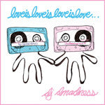 DJ Dmadness - Loveisloveisloveislove..., Mixed CD - The Giant Peach