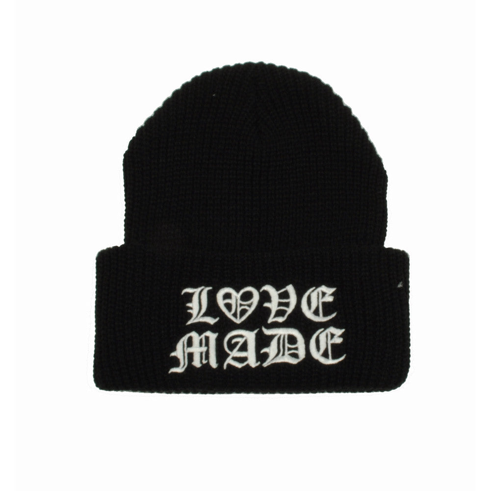 Lovemade - Thug Made Beanie, Black - The Giant Peach - 2