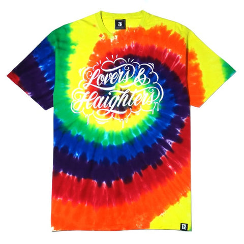 TRUE - Love and Haight Men's Shirt, Tie Dye
