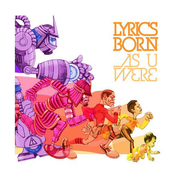 Lyrics Born - As U Were, CD - The Giant Peach