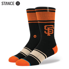 Stance - Gigantes Men's Socks, Black - The Giant Peach