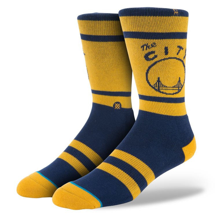 Stance - Warriors Men's Socks, Blue - The Giant Peach