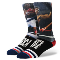Stance x Muhammad Ali - G.O.A.T. Men's Socks, Black - The Giant Peach