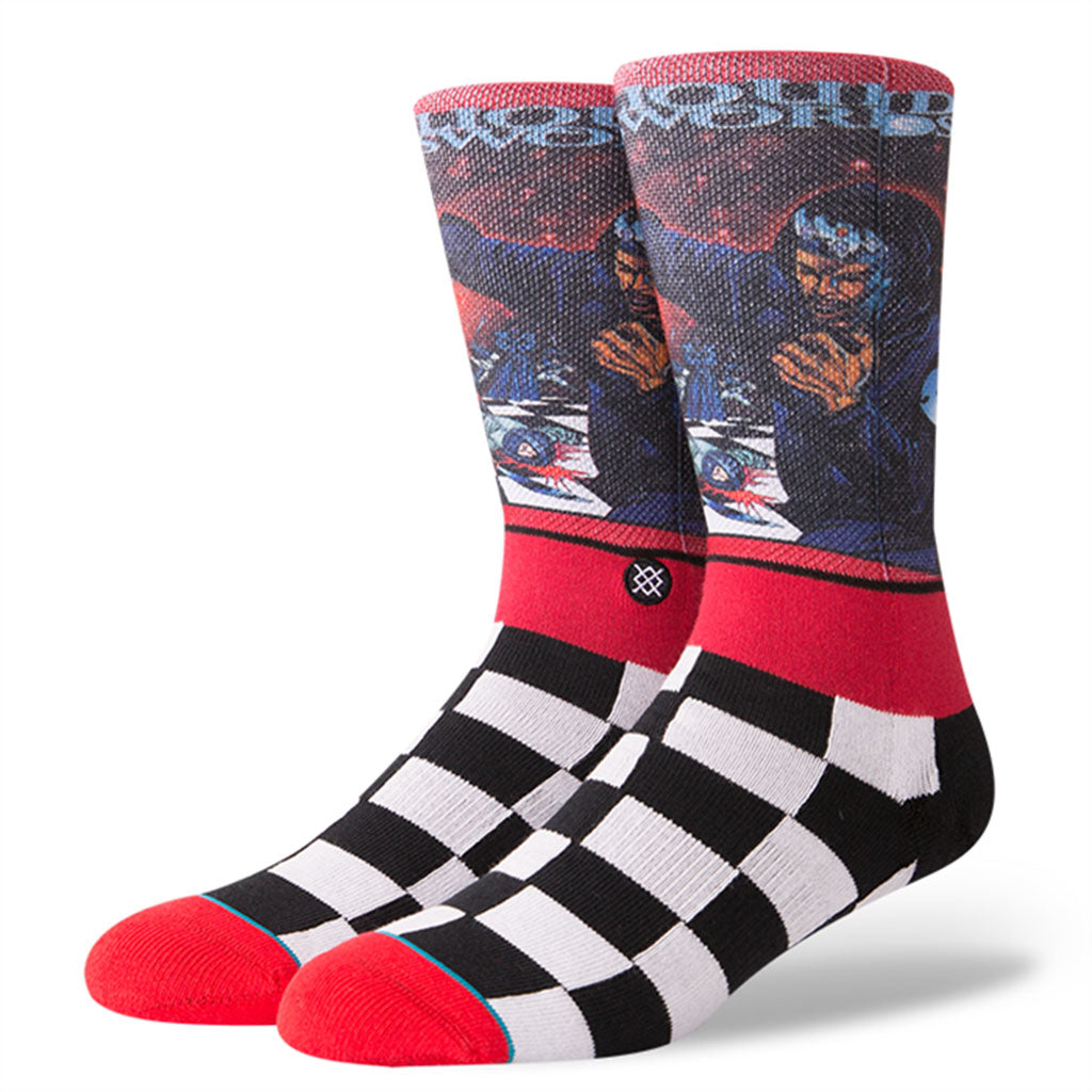 Stance x GZA - Liquid Swords Men's Socks, Red