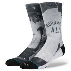 Stance x Muhammad Ali Men's Socks, Black - The Giant Peach