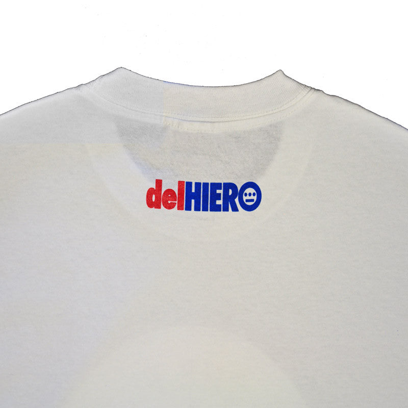 delHIERO - Made in Oakland Men's Shirt, White - The Giant Peach