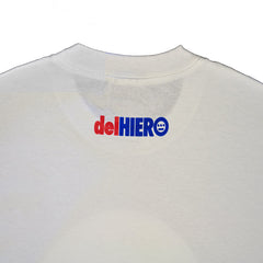 delHIERO - Made in Oakland Men's Shirt, White - The Giant Peach - 2