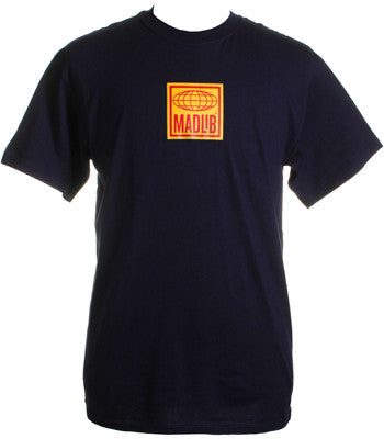 Madlib - Logo Men's Shirt, Navy - The Giant Peach