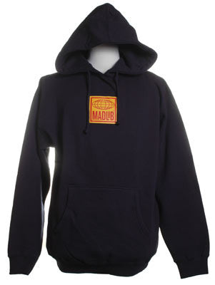 Madlib Logo Men's Hoodie, Navy - The Giant Peach