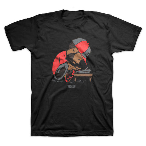 J Dilla - Maestro Men's Shirt, Black
