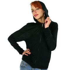 Eden by Element - Aiko L/S Knit Women's Zip Hoodie, Black - The Giant Peach