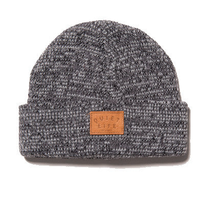 The Quiet Life - Marled Beanie, Grey