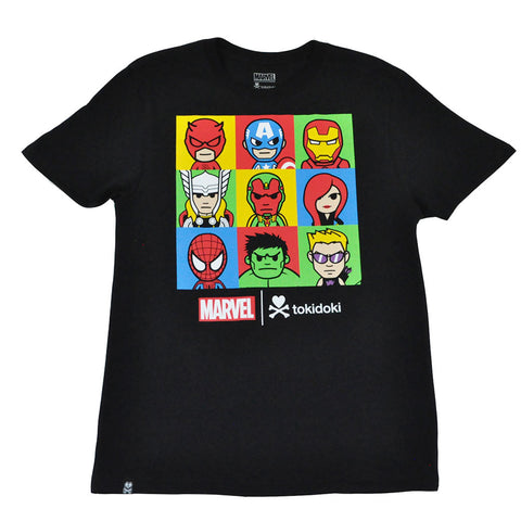 tokidoki TKDK - Marvel Lineup Men