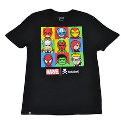 tokidoki TKDK - Marvel Lineup Men's Shirt, Black